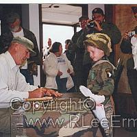Ermey Autographing